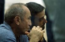 Ռոբերտ Քոչարյանի պաշտպանը դիմել է ՄԻՊ-ին և ԲԴԽ-ին