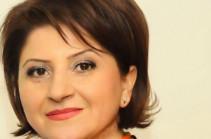 Рима Еганян назначена пресс-секретарем Следственного комитета Армении