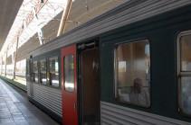 Հարավկովկասյան երկաթուղին շարունակում է միջքաղաքային էլեկտրագնացքների շահագործումը՝ բացի արագընթաց գնացքներից Երևանի և Գյումրիի միջև