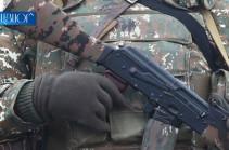 ՀՀ հյուսիսարևելյան ուղղությամբ հակառակորդի կրակոցից զինծառայող է վիրավորվել