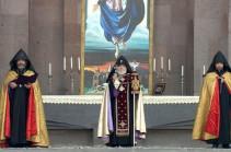 Մայր Աթոռ Սուրբ Էջմիածնում կատարվել է Հանրապետական մաղթանք. Լուսանկարներ