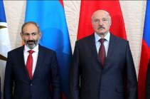 Пашинян и Лукашенко констатировали завышенный уровень цен на российский природный газ