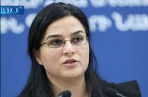 Что означает выражение «никоим образом не спровоцированное нарушение режима прекращения огня» – ответ Анны Нагдалян