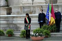 В Италии проходит минута молчания в память о жертвах коронавируса (РИА Новости)