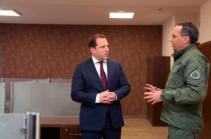 ՀՀ պաշտպանության նախարարին ներկայացվել են «Զինուժ Մեդիայի» վերազինման աշխատանքները