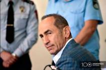 Госпитализированный в марте экс-президент Армении Кочарян переправлен в уголовно-исполнительное учреждение «Ереван-Центр»
