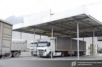 На пропускном пункте «Баграташен» ведутся работы по сокращению скопления автомобилей – КГД Армении