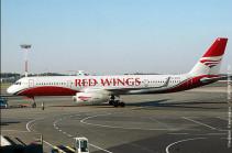 «Red wings» 6 апреля осуществит чартерный рейс Москва-Ереван