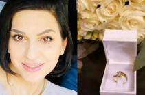 Լրագրող Անի Քոչարը նշանադրվել է Հայաստանում. ընտրյալը տնտեսագետ է