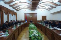 Բակո Սահակյանի գլխավորությամբ Արցախում կորոնավիրուսի տարածման կանխարգելման հարցով միջգերատեսչական հանձնաժողովի նիստ է գումարվել