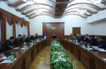 Artsakh president holds consultation on the fight against the new coronavirus