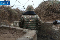 Azerbaijan violates ceasefire, wounds Artsakh defense army soldier