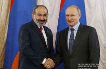 Armenia's PM, Russian President discuss gas supply issues
