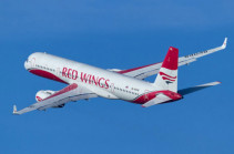 Red Wings airline to transport Armenian citizens from Russia to Armenia today