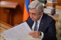 Следственная комиссия по изучению обстоятельств Апрельской войны предоставила расплывчатые ответы – офис третьего президента сообщит сегодня о позиции Сержа Саргсяна