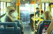 Порядка 70 автобусов ежедневно осуществляют перевозку 1800 медицинских работников
