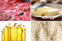 Prices of meat, butter, rice to go down: Armenia's deputy PM
