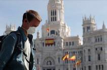 Իսպանիայում կորոնավիրուսով վարակվածների թիվը գերազանցել է 150 հազարը (ТАСС)