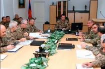 Ջալալ Հարությունյանի նախագահությամբ անցկացվել է ռազմական խորհրդի հեռավար նիստ