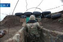 Շաբաթվա ընթացքում հակառակորդը հայ դիրքապահների ուղղությամբ արձակել է շուրջ 1200 կրակոց