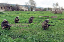 1-ին զորամիավորման հատուկ նշանակության ստորաբաժանումների ներգրավմամբ մասնագիտական պարապմունքներ են անցկացվել
