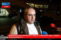 Arthur Danielyan files complaint against vice-speaker of NA for attacking and injuring him