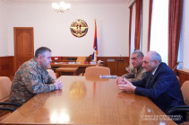 Bako Sahakyan received head of the General Staff of the Republic of Armenia Armed Forces