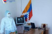 Six new confirmed coronavirus cases recorded in Artsakh