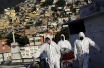 Բրազիլիայում առաջին անգամ մեկ օրում կորոնավիրուսից մահացածների թիվը գերազանցել է 1000-ը