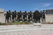 Գողացել են «Արարատ-73»-ին նվիրված արձանները (Տեսանյութ)