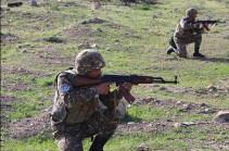 Adversary attempts subversive intrusion, thrown back with casualties: Artsakh Defense Army