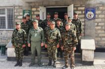 ԱԱԾ տնօրենն այցելել է պետական սահմանը վերահսկող ուղեկալներ
