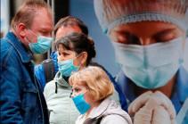 Число выявленных случаев коронавируса на Украине достигло 21 584