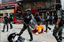 Полиция Гонконга арестовала около 180 участников протеста