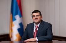 Արցախի նախագահը շնորհավորական ուղերձ է հղել Հայաստանի Առաջին Հանրապետության օրվա առթիվ