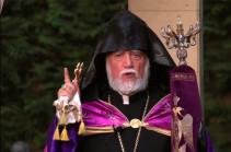 Армянский народ должен избегать подходов, обостряющих внутреннюю напряженность,  ослабляющих внутреннюю силу – Католикос Арам I