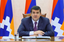 Do not ever try to speak to us in the language of force: Artsakh President responds to Aliyev