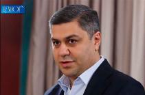 Артур Ванецян избран председателем партии «Родина» (Hraparak.am)