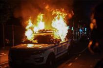 В центре Вашингтона протестующие громят магазины и офисы (Видео)