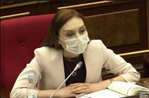 После этого законопроекта мы предпримем шаги, чтобы действующий Конституционный суд соответствовал Конституции 2015 года – Лилит Макунц