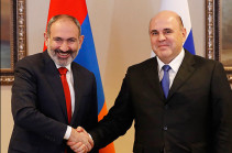 Mikhail Mishustin sends birthday greetings to Nikol Pashinyan