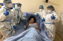 Հեմոդիալիզ ստացող շաքարային դիաբետով հիվանդ 47-ամյա կինը հաղթահարել է կորոնավիրուսը