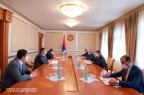 """President Arayik Harutyunyan received the delegation of the """"Electric Networks of Armenia"""" CJSC"""