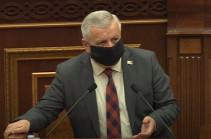 Закон гарантирует сохранность вклада и повышает доверие к государству – Сергей Багратян