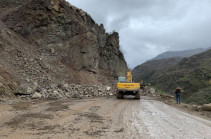 Թումանյանից մինչև Օձունի խաչմերուկ ճանապարհահատվածը ժամանակավորապես փակ է