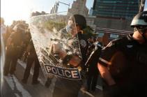 ԱՄՆ-ում ավելի քան 10 հազար մարդ է ձերբակալվել աֆրոամերիկացու մահվան կապակցությամբ բողոքի ցույցերի ընթացքում