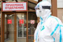 В России за сутки выявлен 8831 новый заболевший коронавирусом