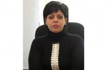 Сиран Аветисян назначена министром юстиции Республики Арцах