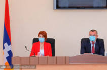 Արցախի խորհրդարանականները հանդիպել են երկրի գլխավոր դատախազի թեկնածուին