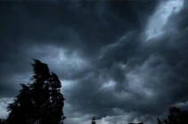 Սպասվում է կարճատև անձրև և ամպրոպ